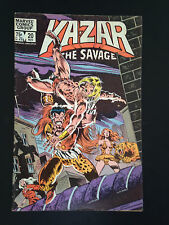 E3, Comics Marvel, Kazar The Savage, # 20 Nov