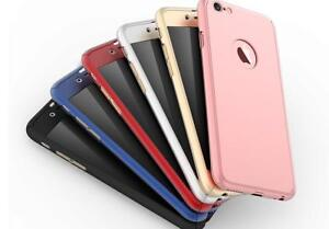 Hybrid 360° New Shockproof Case Tempered Glass Cover For iPhone 6 / 6s models