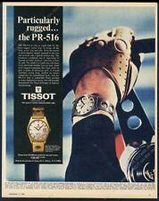 1968 Tissot Seastar PR-516 watch color photos vintage print ad