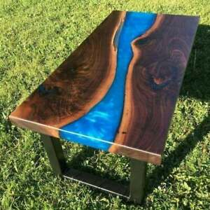 Epoxy Resin Coffee and Dining table 100% Handmade Design Luxury Home Decor