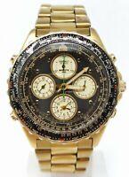 Orologio seiko flightmaster pilot seiko 7T34-6A00 rare watch vintage clock reloj