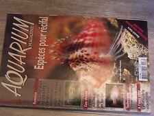 $$$ Revue Aquarium Magazine N°211 RecifalBassinsEclairageQuarantine