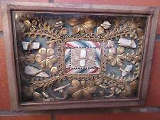 OLD RELIQUARY RELIC RELIQUIA TECA LEGNO 13 IMPORTANTI SANTI 1700