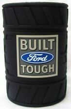 120731 FORD BUILT TOUGH LOGO RUBBER TYRE CAN COOLER STUBBY HOLDER NOVELTY GIFT