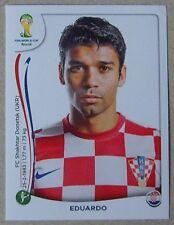PANINI STICKER - FIFA - WORLD CUP 2014 - No 67 - EDUARDO  ( DA SILVA ) - CROATIA