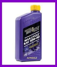 ROYAL PURPLE MAX CYCLE 10W-40 OLIO 100% SINT. MOTO 4T motori Quad Scooter 10W40