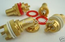 4 RCA female connector chassis socket for upgrading DIY