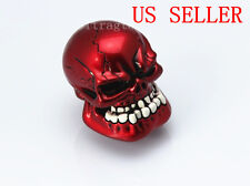 Universal 4 5 6 Speed Human Wicked Carved Skull Head Stick Shift Knob Shifter