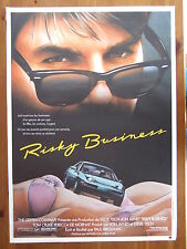 AFFICHE - RISKY BUSINESS - TOM CRUISE - 1983