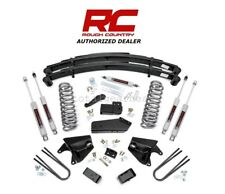 "1980-96 Ford F-150 Bronco 4WD 6"" Rough Country Lift Kit w/ Leaf Springs [525.20]"