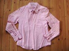 @ Daniel Hechter @ taillierte Bluse rosa langarm TOP! Gr. 34 Size XS UK 6 US 4