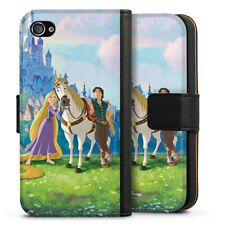 Apple iPhone 4 Tasche Hülle Flip Case - Tangled