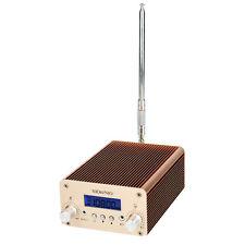 1W/6W FM Transmitter Radio Station Bluetooth Wireless Broadcasting+Power+Antenna