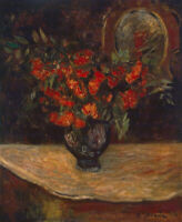 Bouquet Paul Gauguin Wall Art Print on CANVAS HQ Giclee Painting Reproduction SM
