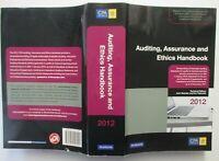 AUDITING ASSURANCE & ETHICS HANDBOOK  2012        CPA Australia