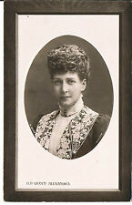 ROTARY POSTCARD HM QUEEN ALEXANDRA BY LAFAYETTE C1905 RP