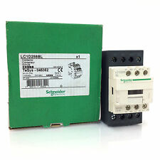 4 pole Contactor LC1D258BL Schneider 24VDC 11kW 045352 LC1D258-BL