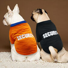 Small Dog Summer Clothes Security Puppy Cat Vest Soft Pet T-Shirt French Bulldog