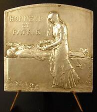 Médaille Ville de Saint Etienne 1915 enfants morts pour la France Maurice Chenu