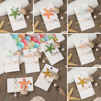 Wedding Party Pearl Hairpins Starfish Hair Clips Shell Barrettes Girl Hairgrip