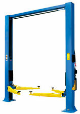 2 Post Car lift Hoist, Clear Floor, Overhead, 4 Ton 4000 Kgs  TUFFLIFT