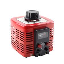 Ein Phasen Regeltrafo Stelltrafo Ringkerntrafo Spannung Transformator 2000W 230V
