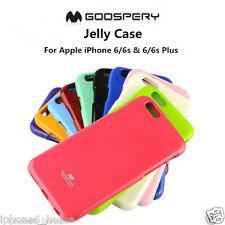 iPhone 6 6s 6 Plus 6s Plus Genuine MERCURY Goospery Jelly Case Cover FREE Post