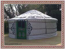 "5m (16'4"") diameter yurt (floor area 19.6m²) - Eco living"