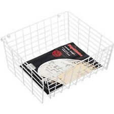 STANDARD WHITE LETTER BOX DOOR CAGE GUARD PROTECT POST MAIL DOG PROOF free post