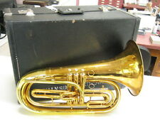 GOOD KING 1124 MARCHING BARITONE IN Bb with CASE & MOUTHPIECE