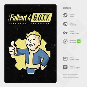 Fallout 4: Game of the Year Edition GOTY (PC) - Digital Code [GLOBAL]