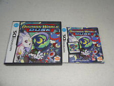 Digimon World Dusk Nintendo DS in Box with booklet