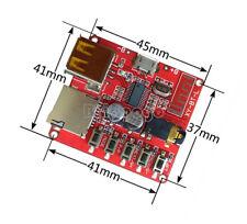 Bluetooth 4.1 Audio Decoder MP3 Player Board Micro USB TF SD Card Module 3.7V-5V