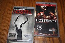 Lot of 2  Hostel Part 1 & 2 PSP UMD New