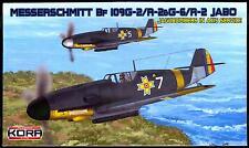 KORA Models 1/72 ROMANIAN MESSERSCHMITT Bf-109G-2/R-2 or G-6/R-2 JABO Fighter