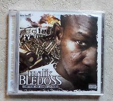 """CD AUDIO FR / MALIK BLEDOSS """"CIMETIÈRE DES ARMES LOURDES"""" CD  NEUF SOUS BLISTER"""