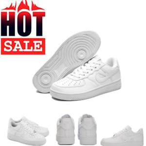 New AIR FORCE 1'07 Sneaker Women Men Sports Shoes Sneakers White Leather Trainer