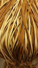 deerlace / buckskin lace saddle 1/8 wide  6 ft long / wholesale /12 pack