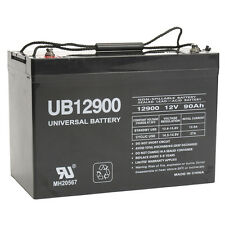 UPG 12V 90Ah Battery for Power Boat Pontoon Electric Trolling Motor Deep Cycle