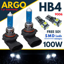 HB4 Xenon White 9006 Halogen 100w Headlight Fog P22d 501 Led Side light Bulbs