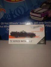 TV SERIES BATMOBILE HOT WHEELS ID,LIMITED RUN COLLECTIBLES,SERIES 1,HW BATMAN!!!
