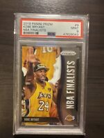 2019 Panini Prizm NBA Finalists #9 Kobe Bryant Lakers HOF PSA 9 MINT