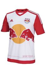 77f6d6e8571 NWT NEW YORK RED BULLS 2015 16 L Home Adidas Soccer Jersey Football Shirt  MLS