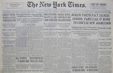 11-1936 November 26 LOYALISTS ROUTED IN SUDDEN ATTACK INSURGENT. SPAIN CIVIL WAR