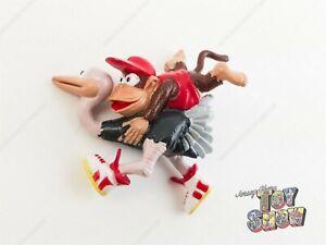 1994 Bandai Japan Nintendo Donkey Kong Country Diddy Ostrich keychain PVC figure