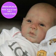 "Reborn baby doll kit Gabriel unpainted to make a doll 20"" Soft Vinyl  FREE Gift"