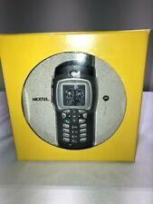 Motorola i355 IDEN PTT Sprint Nextel NIB with Motorola Hand Mic