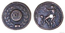 Roman Spintria Brothel Entry Token XIII Bronze