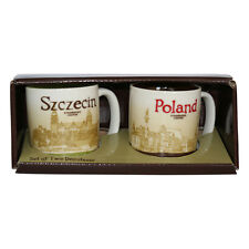 Starbucks Mug Pomorski Szczecin set of TOW demitasse Coffee Polonia Poland espresso