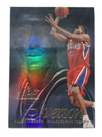 1996-97 FLAIR SHOWCASE ROOKIE ALLEN IVERSON 76ers SECTION 1 ROW 2 RC HOT 1996 #3
